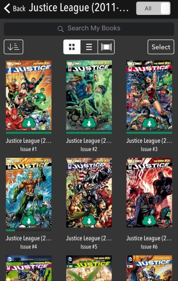 ComiXology Library 2